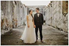 karla + mike   bridal separates   Annabelle Dress, Elsa Tulle Skirt and Savannah Topper all from @BHLDN   fer juaristi photography   #BHLDNbride