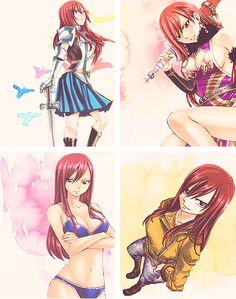 Fairy Tail, Erza