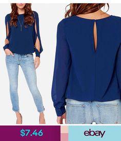 2017 Women Blouse Long Sleeve Hollow Out Sexy Casual Shirt Fashion Chiffon Blouse  Women Tops Blue Pink Purple O neck Blouse 1bbe0ac67a26