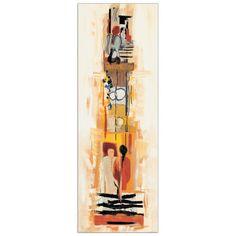 """""""BONCIANI - Begegnungen I"""" Misure: 35x100 cm #artprints #interior #design  Scopri Descrizione e Prezzo ---> http://www.artopweb.com/categorie/astratti/EC14750"""