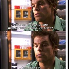 oh dexter.my favorite tv show Dexter Memes, Dexter Quotes, I Love Cinema, Michael C. Hall, Anne With An E, Tv Show Quotes, Slice Of Life, Film Serie, Best Shows Ever