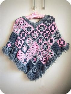 Crochet Poncho Patterns and Designs For Inspiration - Life Chilli