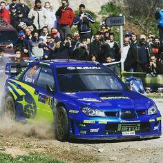 Impreza Subaru, Wrx Sti, Rallye Wrc, Race Cars, Spain, Instagram, Racing, Wings, Community
