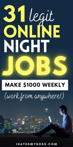 Earn Money From Home, Earn Money Online, Make Money Blogging, Online Side Jobs, Online Job Opportunities, Best Business To Start, Ways To Get Money, Night Jobs, Make Money From Pinterest