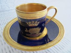 A great antique cup and saucer.