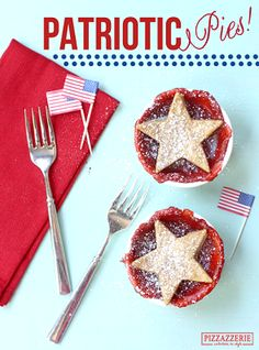 Tomorrow America celebrates Labor Day! Get into the spirit with a Patriotic Strawberry Pie recipe from @Courtney Whitmore {Pizzazzerie.com}