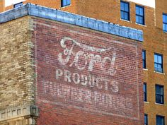 AbileneTexan Photo of the Day: Ford Ghost Sign by Bob Weston