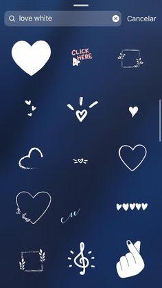 Frases Instagram Tumblr, Instagram Emoji, Instagram Frame, Instagram And Snapchat, Instagram Story Ideas, Instagram Heart, Creative Instagram Photo Ideas, Instagram Editing Apps, Instagram Highlight Icons