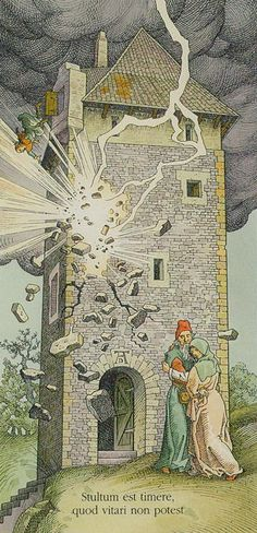 Dürer Tarot - Der Turm