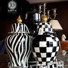 Ürünlerimiz ile ilgili sorularınızı DM ( Direkt Mesaj ) alanından iletebilirsiniz. Showroom / İstanbul / Modoko #lotshomedesign #evaksesuarı #küp #... Ceramic Painting, Ceramic Art, Tile Art, Painted Porcelain, Black And White, Modern, Image, Nice, Instagram