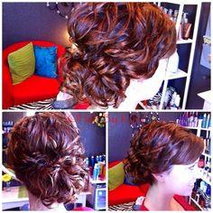 Hair By Kyla - Hair Portfolio #updo #messycurls