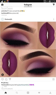 When it comes to eye make-up you need to think and then apply because eyes talk louder than words. The type of make-up that you apply on your eyes can talk loud about the type of person you really are. It doesn't really matter if y Makeup Goals, Makeup Inspo, Makeup Inspiration, Makeup Tips, Makeup Ideas, Makeup Hacks, Beautiful Eye Makeup, Flawless Makeup, Pretty Makeup