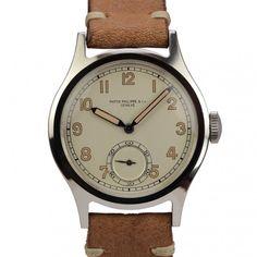 ce21be701b5 Patek Philippe Stainless Steel Calatrava Wristwatch Ref 565 circa
