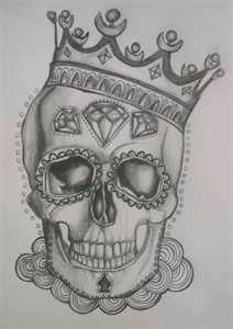 Sugar Skull Tattoo DesignCustomer Request A Badass