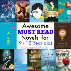 Must Reads - Can't Put the Book Down Novels for 9-12 Year olds (Grade 3 - Grade 6)
