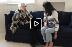 iris apfel: Leandra sits down with the style & textile icon.