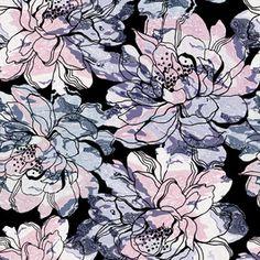 Textured Flowers.
