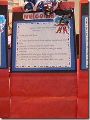 Welcome bag/ Meet the teacher night