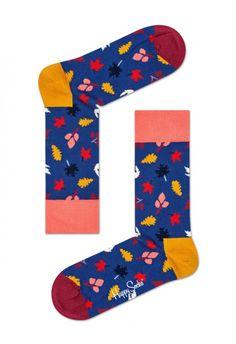 Happy Socks® - Colorful Design Socks For Men, Women & Kids. Buy Colorful Socks In Our Official Store! Fall Socks, Crazy Socks For Men, Fall Patterns, Colorful Socks, Happy Socks, Coral Pink, Crew Socks, Happy Friday, Bunt
