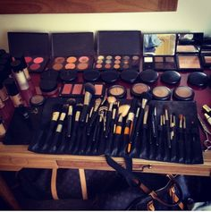 Makeup Collection. mine is getting there... slowly, but surely.