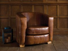 Vintage Club Chair | Part of the extensive collection of handmade furniture on display at Indigo Furniture's Peak District showroom 01629581800 {N.B item on display is shown in our Shabby Leather} #indigofurniture #furniture #home #matlock #indigoshowroom #matlock #peakdistrict #leather #decor #chair #occasionalchair #livingroom