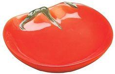 Tomate-Placa-Coleccionable-Frutas-Ceramica-Vidrio-Cocina-Bandeja-Placa