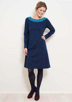 be3c5f7ba1e9 Charles kjole MYRA Royal Blue 1018-1 - Køb kjolen HER