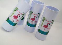 Convite Flamingo Modelo P104