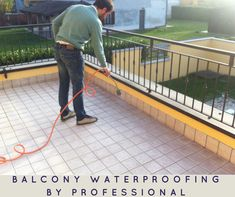 When #balcony is not properly #waterproof that can lead to a multitude of problems. Water damage from balcony can cause extensive water damage to the interiors of the house.