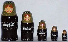 Coca Cola Nesting Set
