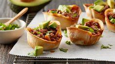 Muffin-Tin Beef Enchiladas