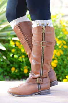 Buckle Up For The Ride Boots - Tan from Closet Candy Boutique