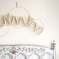 Unique Macrame Wall Hanging by Amy Zwikel Studio