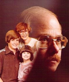 The Visage of Balding 70's Dad frowns upon your happiness.