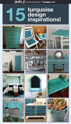 If you're loving turquoise you're going to love this!