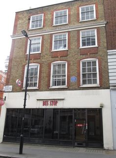 The home of David Edward Hughes, the inventor of the microphone