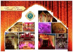 Beautiful #Decoration in #Floral #Theme. Plan your Wedding with #Pandhi #Decorators.book now: http://goo.gl/b8Yj6q