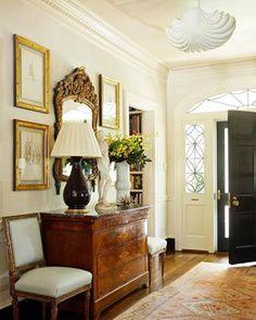 Foyer decorating – Home Decor Decorating Ideas Foyer Decorating, Interior Decorating, Interior Design, Decorating Ideas, Elegant Home Decor, Elegant Homes, Entry Foyer, Entryway Decor, Foyer Bench