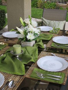spring tablescapes | Easter & Spring Tablescapes | Lori's favorite things ...