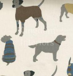 Prestigious Textiles - Mans Best Friend Mans Best Friend, Best Friends, Prestigious Textiles, Boy Room, Big Boys, Moose Art, Fabrics, Dogs, Animals