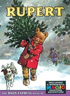 Rupert Bear Annual 1965 - I had this one....my Nan used to buy me one every Christmas (right up until I was 35!!)