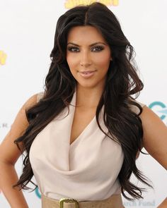 Kim Kardashian - The Top 10 Brunettes in Hollywood - Get Hollywood Hair Color - Hair - InStyle