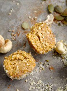 Pumpkin Pie Energy Poppers #vegan #hempseeds #glutenfree