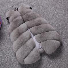 2015 New Design Fashion Winter Women Fur Vest Faux Fox Fur Coat Woman Fake Fur Vests Jacket Female Ladies Fur Coat Size S-XXXL|5c9556b6-9b75-4cb1-962b-91bbc9d6e0d0|Fur & Faux Fur