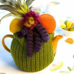 Keep your pot of tea warm with a tea cosy
