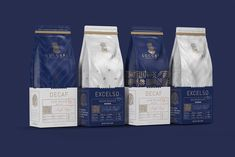 Speciality Luxury Coffee Brand and New Cafe Experience / World Brand & Packaging Design Society Coffee Packaging, Brand Packaging, Packaging Dielines, Food Packaging, Branding Agency, Branding Design, Food Branding, Luxury Cafe, Branding Digital