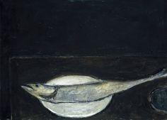 William Scott Mackerel on a Plate 1951–2