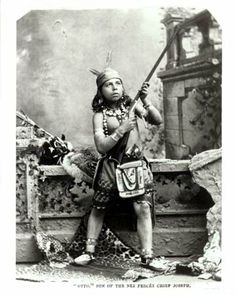 Otto (the son of Chief Joseph) - Nez Perce - no date
