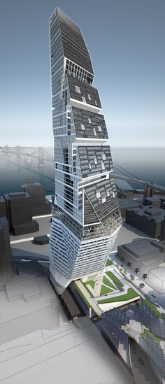 The building is expected in San Francisco and the designed specifically to facilitate good natural ventilation