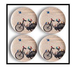 More bird bike book plates.